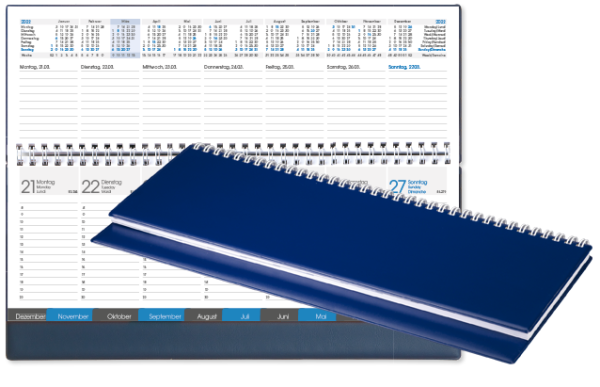 Tischquerkalender TQR