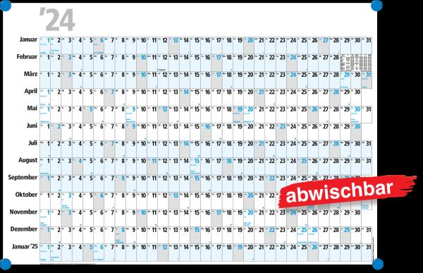 Planungskalender PK13 - abwischbar